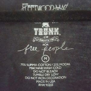 Free People Tops - Fleetwood Mac Distressed V Neck M